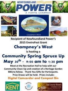 CW Community Spring Spruce Up Project May 30 2015